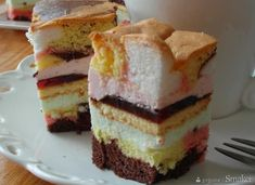 Food Cakes, Cupcake Cakes, Cupcakes, Polish Recipes, Homemade Cakes, Confectionery, Vanilla Cake, Blueberry, Cake Recipes