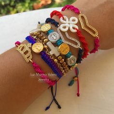 Friendship bracelets by Luz Marina Valero