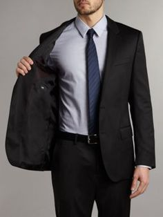 Every guy at some point in life should own a Hugo Boss Suit :)