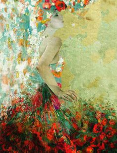 """""""The First Dance With You""""  Maria Szollosi   * painting/mixed medium"""