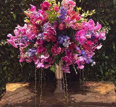 Shades of Purple!!  Arranjo floral, jardim, casamento.