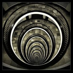 Architecture Photography: Capturing Beauty in Buildings amd interior spaces ---> An impressive photo of a spiral staircase╚╗ Baroque Architecture, Beautiful Architecture, Architecture Details, Interior Architecture, Staircase Architecture, Classical Architecture, Landscape Architecture, Grand Staircase, Staircase Design