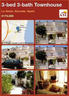 3-bed 3-bath Townhouse in La Zenia, Alicante, Spain ►€175,000 #PropertyForSaleInSpain