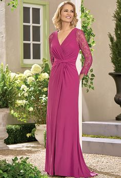 5c90ea710c9ea Brides  Jade by Jasmine. Matte Jersey Lace with Stretch lining dress with a