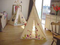 indoor teepee, indoor play tent, indoor tent, kid's teepee, personalized teepee, teepees on etsy