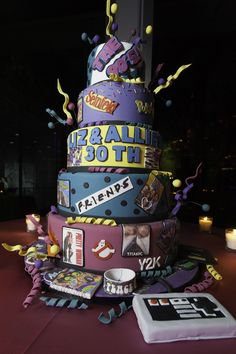 21 Best Photo Of 90S Birthday Cake 90s Theme For 30th