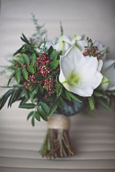 Michelle and Tristan's winter wedding