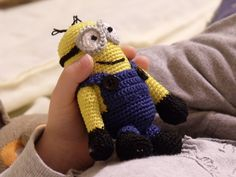 OMG!!! Want one!!!!! Crochet Minon.