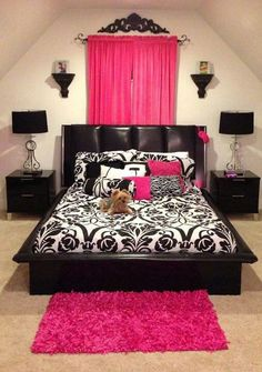 I like this bed and the comforter... I want deep purple or lilac accents.