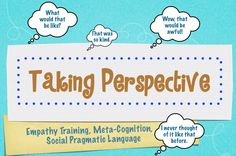 This engaging activity includes 20 situation cards in which the student is asked to take identified viewpoints and determine how he/she would feel in the presented situations. Appropriate for students in grades 5-8 and high school student with social-cognitive deficits.  The activity is engaging and gets kids to widen their range of thinking and identify feelings. ($3)