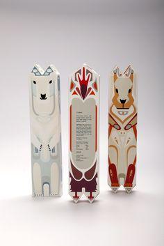 動物造型巧克力包裝