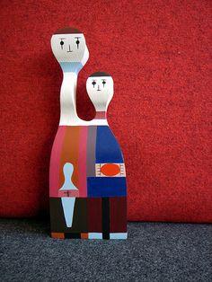 Alexander Girard Doll.