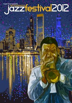Jacksonville Jazz Festival happens every year in Downtown Jacksonville, put it on your calendar for May 2013!