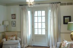 Best of The French Door Curtains Ideas - Decor Around The World