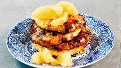 Raejuustoletut - K-ruoka Tandoori Chicken, French Toast, Good Food, Healthy Recipes, Healthy Food, Breakfast, Ethnic Recipes, Koti, Healthy Foods