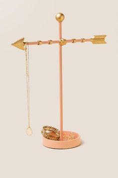 Gold Arrow Jewelry Stand