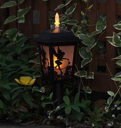 New Tinker Bell Solar Light Lamp Garden Outdoor Light Need for my garden:)