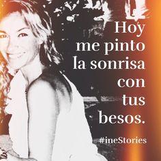 Sonrío con tus besos. #inestories #instaquote #love #life #microcuento #amor #desamor #vida #poesia #frases #reflexiones #sensuality_dreams #loves_passione #palabras #poema #micropoesia  #bodyparts #me #icu_people_me