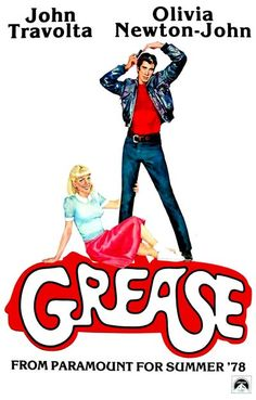 A great poster! From Broadway to the Big Screen, Grease is a classic of American film musicals! Starring John Travolta and Olivia Newton-John. Ships fast! 11x17 inches. Need Poster Mounts..?