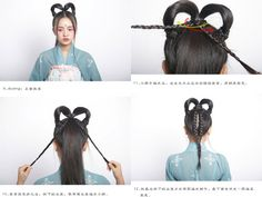 hanfu hairstyle | Tumblr