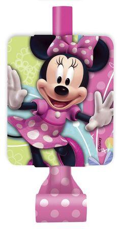 Flutes de fête Minnie Mouse