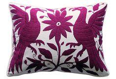 Dark Fuchsia   Otomi Pillow on OneKingsLane.com