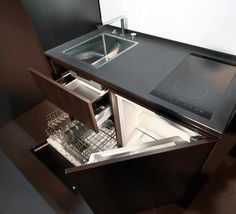 Kitchoo, maybe coolest kitchen for small spaces    www.icreatived.com