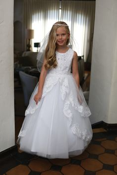 Shop New First Communion Dresses for 2019 on sale. Popular Girls First Holy Communion Dresses offered in a variety of sizes, lengths. Shop 2019 First Communion Dresses on Sale at Christian Expressions Girls First Communion Dresses, Holy Communion Dresses, Girls Pageant Dresses, Little Girl Dresses, Flower Girl Dresses, Flower Girls, Party Dresses, Wedding Dresses, Confirmation Dresses
