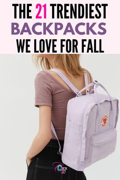 Sling some style over your shoulder this semester. #backpacks #college #school #backtoschool Cute Backpacks For School, Trendy Backpacks, College School, Back To School, College Fashion, Herschel Heritage Backpack, Styling Tips, Latest Trends, 21st