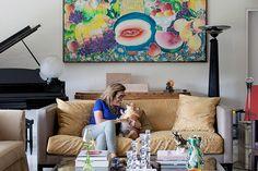 Open house | Adriana Tutundjian. Veja: www.casadevalenti... #decor #decoracao #interior #design #casa #home #house #idea #ideia #detalhes #details #openhouse #style #estilo #casadevalentina #livingroom #saladeestar