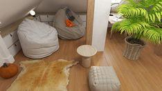 PODDASZE BOHO Interior Rendering, Interior Design, Boho, Nest Design, Home Interior Design, Interior Designing, Bohemian, Home Decor, Interiors