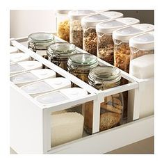 p/metod-maximera-hochschrank-m-schubladen-weiss-ringhult-weiss - The world's most private search engine Ikea Kitchen Drawer Organization, Ikea Kitchen Drawers, Ikea Drawers, Cabinet Organizers, Ikea Metod Kitchen, Ikea Storage, Storage Drawers, Kitchen Cabinetry, Kitchen Pantry