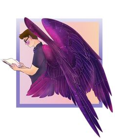 💙 Join the Sanders' Side of Discord! Logan Sanders, Thomas Sanders, Fantasy Creatures, Mythical Creatures, Thomas And His Friends, Character Art, Character Design, Wings Drawing, Bird People