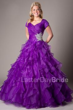 Modest Prom Dresses Prom Homecoming Formal Dance Modest - Oh my goodness, this is Gorgeous!