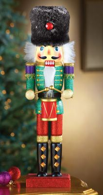 Collecting Wooden Christmas Nutcracker Soldier