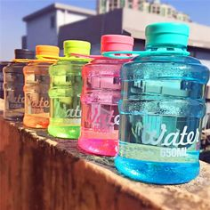 1pcs New Mini Barreled Cup Sealing Cup With Creative Students Water Bottle 650ml For Traveling/Biking/sports