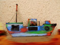 multi color 1 little ship