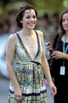 Rachel McAdams Hair. THAT DRESS!!!