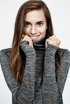 You'll Feel All Warm and Toasty Just Looking at Allison Williams's Vince Campaign. #fashion #shopping