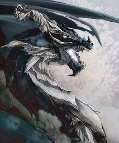 Graphite Dragon Artwork by AnnaKowalczewska on DeviantArt.
