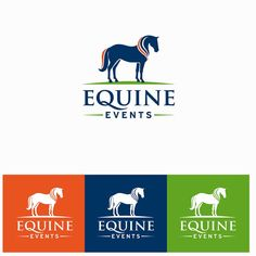 Logo, Identity and Style Guide for Equine Events by Painted Pony Studios