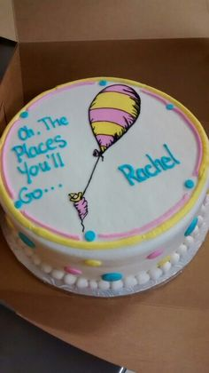 Dr. Suess Oh the places you'll go... Cake! So very detailed!