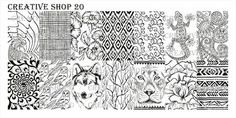 Creative Shop 20 stamping plate | Hypnotic Polish