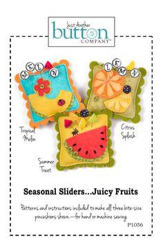 Season Sliders Juicy Fruits Pattern