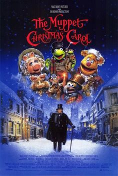 """The Muppet Christmas Carol.  This is my favorite Christmas movie of all time. """"A blue, furry Charles Dickens?"""""""