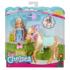 Barbie Club Chelsea with Pony Playset Barbie Club, Barbie Y Ken, Barbie Chelsea Doll, Barbie 2000, Barbie Sisters, Barbie Family, Girl Toys Age 5, Toys For Girls, Doll Clothes Barbie