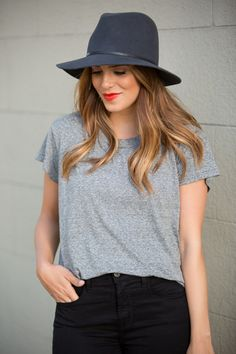 0e7cdfa3b22 24 Best Black fedora hat style images in 2019 | Sombreros, Fall ...