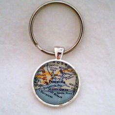 map keychain