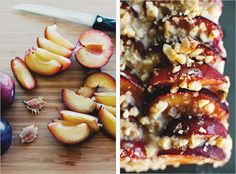 plum tart with mascarpone cream - The Sprouted Kitchen