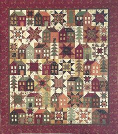 Primitive Folk Art Quilt Pattern  Come On   A por PrimFolkArtShop, $8.75